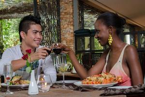 Dinning at Kabira Country Club