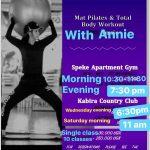 Mat Pilates & Total Bod Workout
